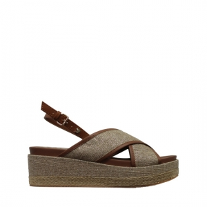 Genoa brown sandals