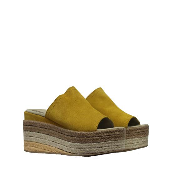 Macon mustard sandals