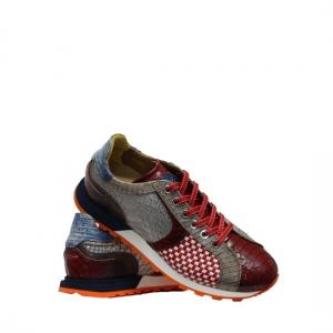 Lorenzi - Fresh red sneakers