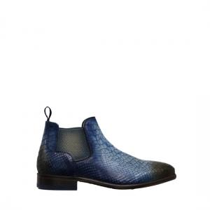 Lorenzi - Fresh cobalto ankle boots