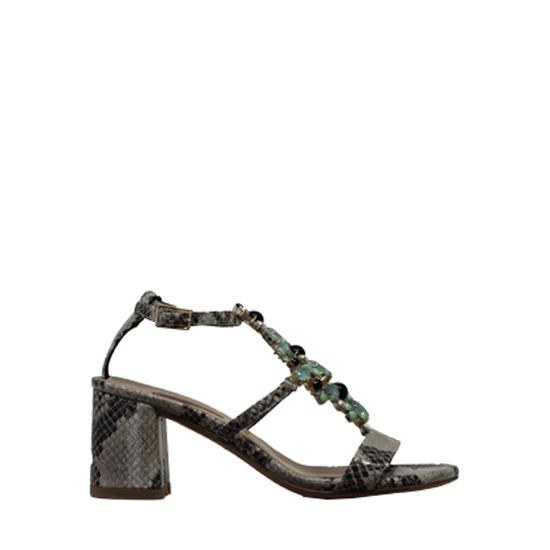 Albano - Rock python sandals