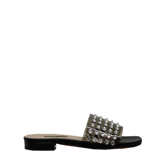 Albano - Black slippers