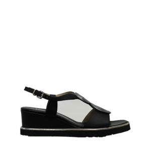 Le Gazzelle - Black bulgaro sandals