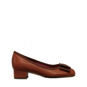 Le Babe - Brown leather ballerinas