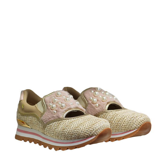 la mejor actitud ab947 95135 Gioseppo – Beige and pink sneakers – KL Shop Calzature