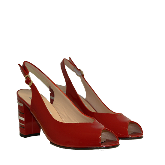 more photos ead0d 53c6c Donna Laura - Red heel shoes