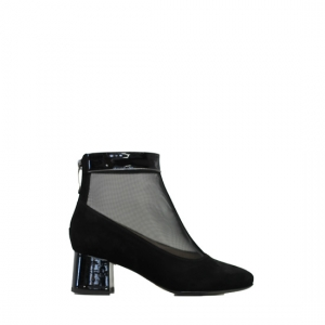 Donna Laura - Black ankle boots