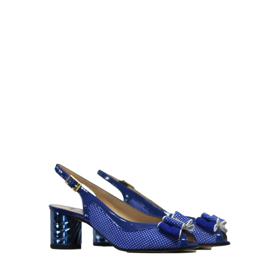 Donna Laura - Point sky sandals