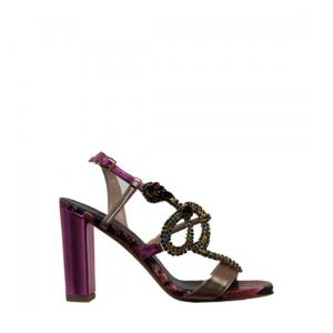 Albano - Metallized sandals